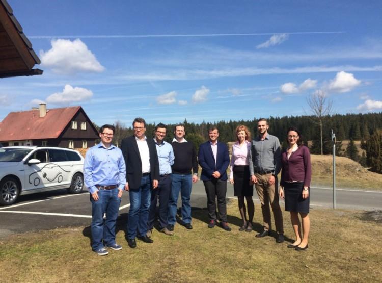 Odstartoval projekt e-Road Písek – Deggendorf